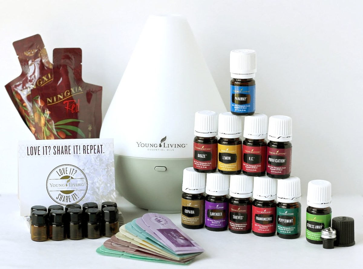Young Living Essential Oils Starter Kit.
